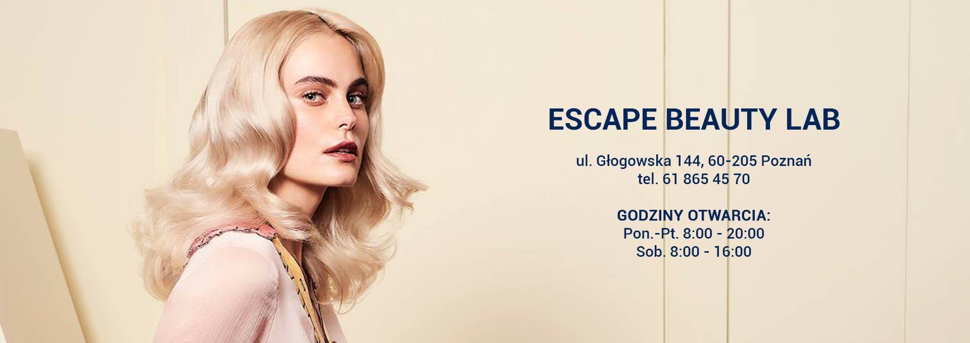 Escape Beauty Lab Fryzjer Kosmetyka Poznań